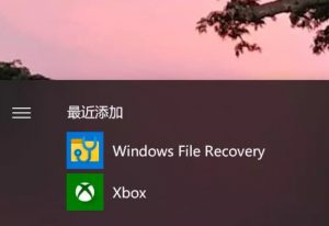 Windows File Recovery微软官方数据恢复工具